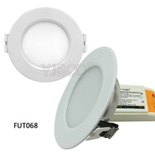 Milight 6W LED Downlight AC86-265V FUT060/FUT068 Dual White/RGB+CCT Led panel light dimmable&FUT092/FUT005 remote milight ac86 265v 4w gu10 rgb cct led dimmable 2 4g wireless milight led bulb led spotlight smart led lamp lighting