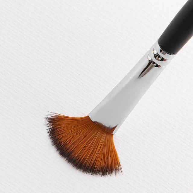 9pcs/set Nylon Oil Paint Brush Round Painting Brush For Watercolor,Oil,Acrylic Brush Pen pincel para pintura Art Supplies 803 4