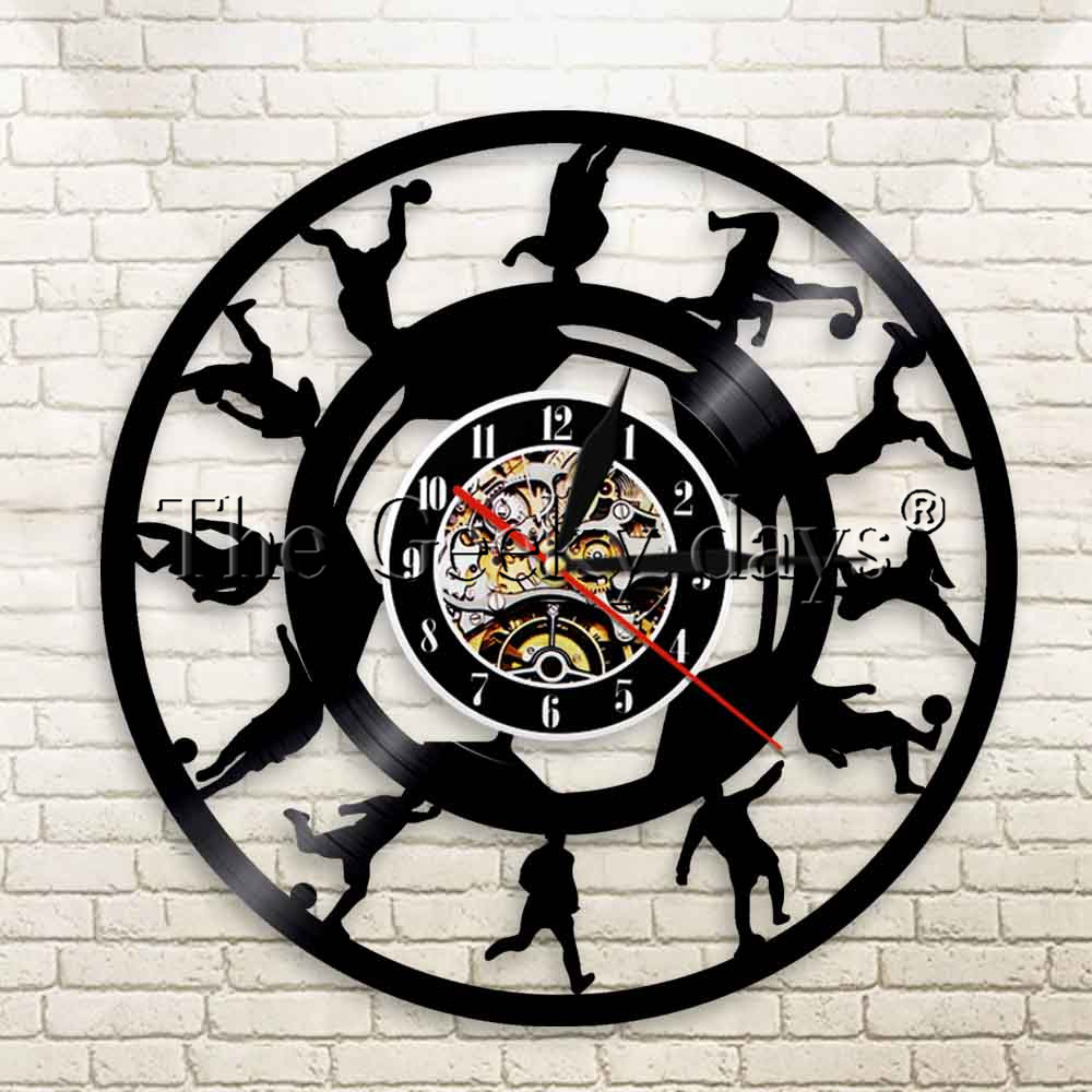 Buy wall clock football and get free shipping on aliexpress amipublicfo Choice Image