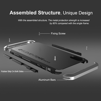 Textured Anti-fall Metal Frame Plastic For Huawei P20 P10 Plus Aluminum Alloy p10Plus Mate 9 10 Honor V8 V20 Bumper With Gift
