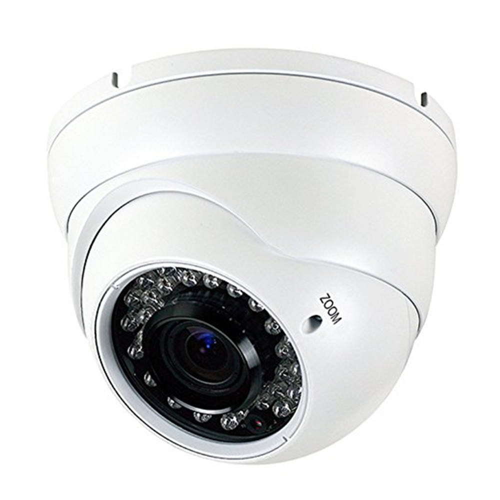 1080P HD Analog CCTV Camera 4-in-1 (TVI/AHD/CVI/CVBS) Security Dome Camera 2.8mm-12mm Varifocal Lens  Surveillance webcam inesun video surveillance security camera 4 in 1 tvi ahd cvi cvbs hd 1080p 2mp 30x optical zoom ir waterproof speed dome camera