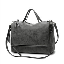 цены Bolish Brand Fashion Female Shoulder Bag Nubuck Leather women handbag Vintage Messenger Bag Motorcycle Crossbody Bags