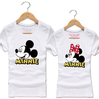 Harajuku Kawaii Mickey Tshirt Tee Shirt Femme Short Sleeve T Shirt Women Men Cute Cartoon T