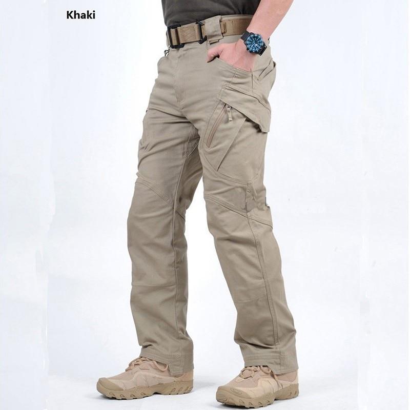 TAD IX9 Militar Tactical Cargo Pants Men Combat SWAT Army Military Pants Cotton Trousers