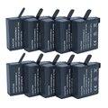 Hot 10 unids/lote 1600 mAh AHDBT-401 AHDBT401 AHDBT 401 Batería de La Cámara para gopro go pro hd hero 4 hero4 negro silve gopro4 baterías