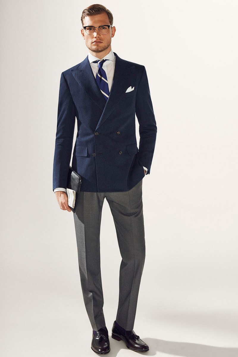 Popular Blue Blazer Gray Pants-Buy Cheap Blue Blazer Gray Pants ...