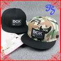 Free Shipping Newly DGK camouflage Hip hop baseball cap adjustable falt hat street skateboard snapback cap for men and women