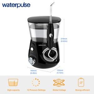 Image 4 - Flotador Dental Waterpulse V660H irrigador bucal de agua cuidado Dental hilo Dental 5 boquillas con función de masaje limpio