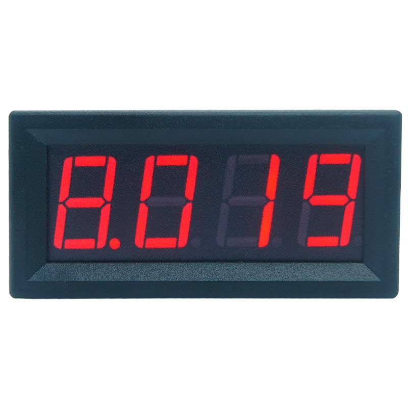 0 9 999A 10A 4 digits bit Ammeter Current Panel Meter Gauge 0 56inch Red LED in Current Meters from Tools