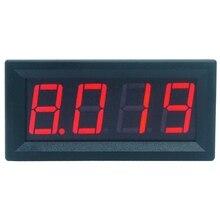 цена на 0-9.999A(10A) 4-digits bit Ammeter Current Panel Meter Gauge 0.56inch Red LED