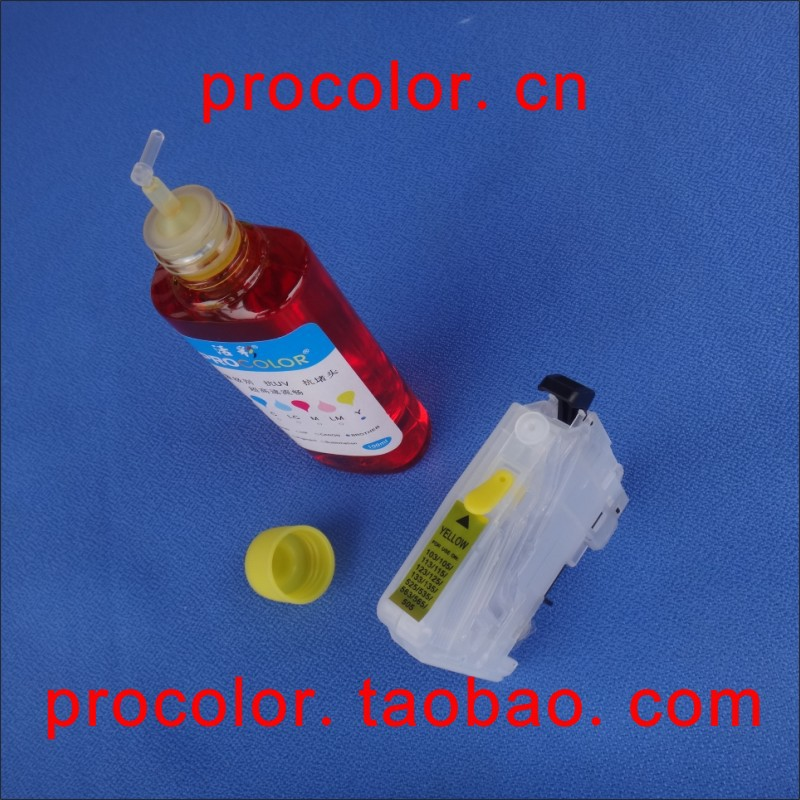 PROCOLOR BD-LC563 / LC565 / LC567 / LC569 CISS Заправка - Офісна електроніка - фото 4