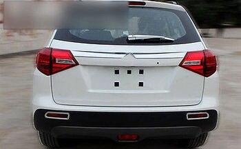 ABS Krom Arka Bagaj kapak Trim 1 adet Suzuki Vitara Escudo Için 2015 2016