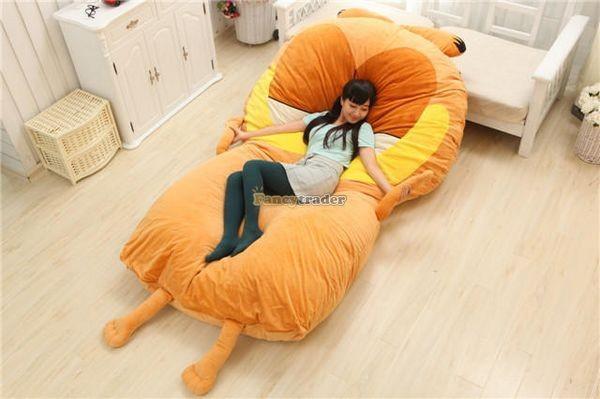 Fancytrader 220cm X 150cm Soft Giant Cute Garfield Cat Bed Carpet Tatami Mattess Sofa, FT50322 (5)