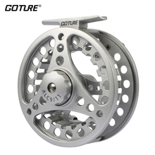 Goture ALC 3/4 5/6 7/8 Fly Fishing Reels Aluminum Frame Spool Left Right Hand Die Casting Fly Reel Coil Pesca 2+1BB
