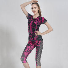 New Arrive Women's Yoga sets Top Quality Yoga Suits Top + Pants Suits Jumpsuit Bodysuit Gym Running Fitness Sports Tights