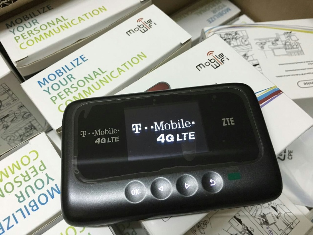 ZTE MF915 Z915 T-Mobile 4G LTE GSM Mobile Broadband WiFi Hotspot Router Modem стоимость