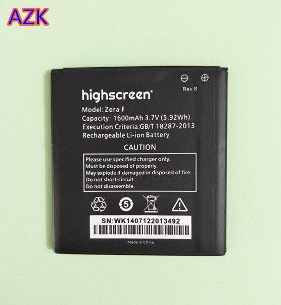 B-TAIHENG литий-ионная батарея для Highscreen Zera F rev. S Замена батареи мобильного телефона 1600 mAh 3,7 V