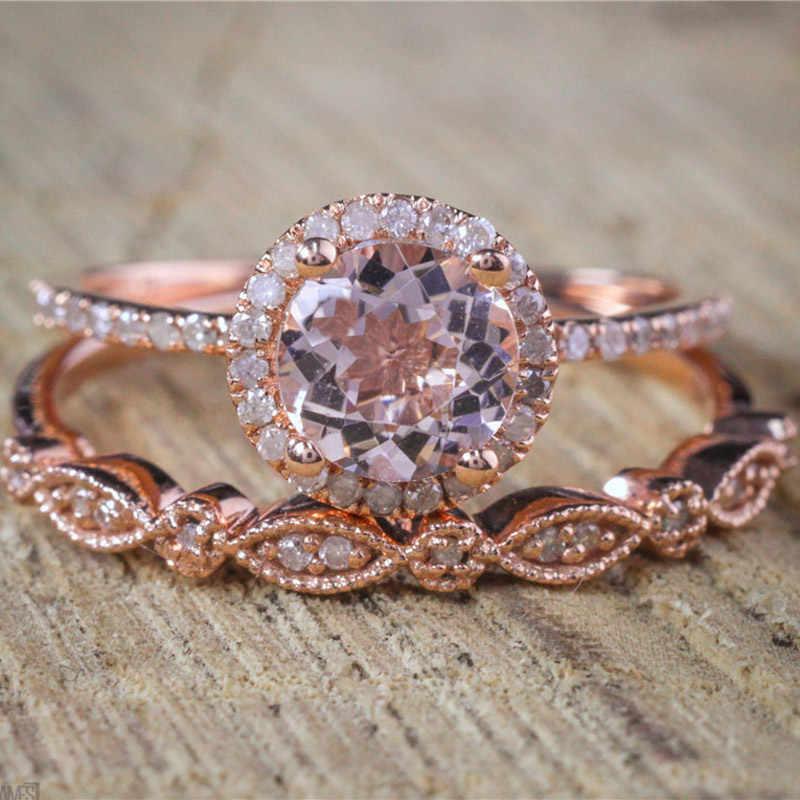 Modyle Female Square Ring Set Luxury