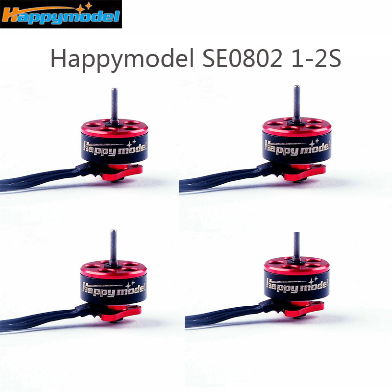 Happymodel SE0802 1-2S 16000KV 19000KV Mini Brushless Motor for Mobula7 Snapper7 RC Drone Multicopter Part Accessories