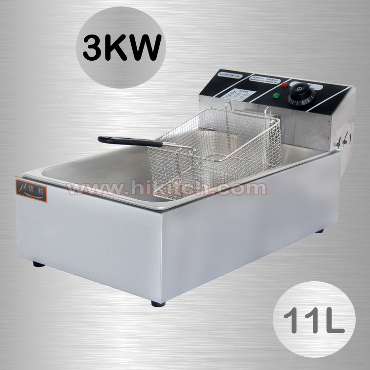 Free shiping 11L Commercial Kitchen equipment electric deep fryer ...