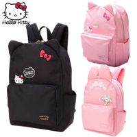 Hello Kitty Cute Cartoon Bag hellokitty Fashion Girls Women Single Shoulder Multifunctional Backpack Children Plush Backpack