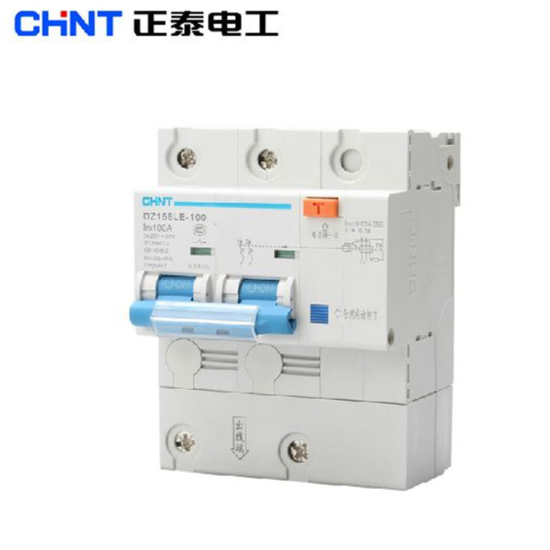 Chint Leakage Circuit Breaker Power Dz158le 100 2p 100a
