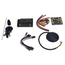 APM 2.8 Flight Controller with Compass,6M GPS,Power Board, GPS Folding Antenna for DIY FPV RC Drone