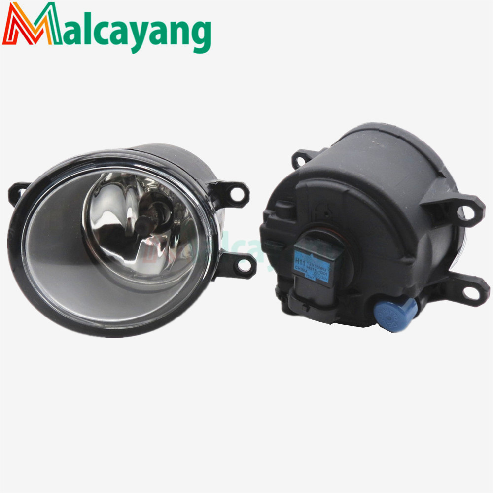 1 SET (Left + right) Car Styling Front Halogen Fog Lamps Fog Lights 81210-06052 For Toyota RAV4 2006 2007 2008 2009 2010 2011 12 2 pcs set car styling front bumper light fog lamps for toyota avensis 2003 2009 fog lights left right 81210 06052