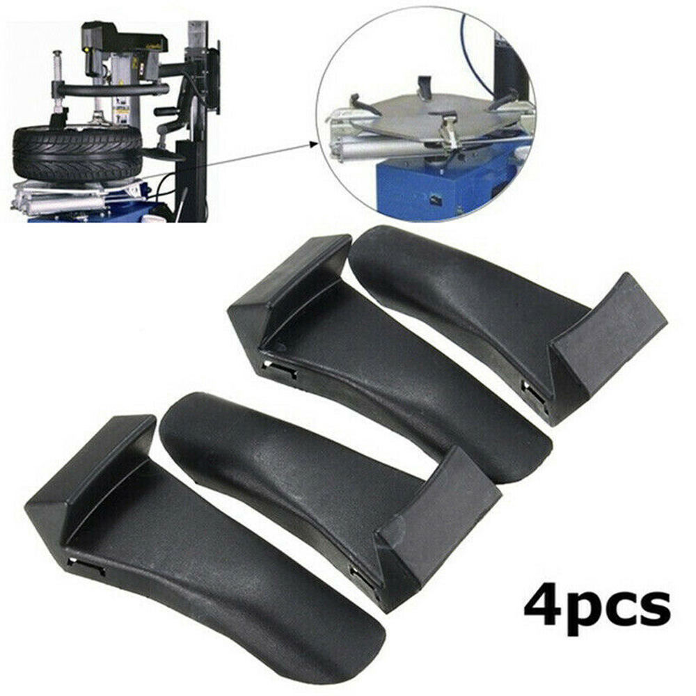 4Pcs/Set Inserts Jaw Clamp Cover Protector Wheel Rim Guards Fit For Tire Changer Grilled Tire Machine Accessories
