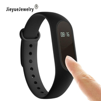 New Smart Bracelet For Android IOS Touch Fitness Tracker Health Wristwatch Sleep Heart Rate Monitor Bluetooth
