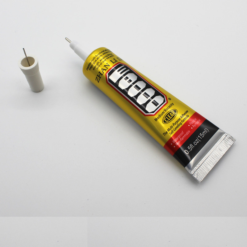 25ml E8000 Household Universal Glue Clothes Leather Sticky Diamond Jewelry Glue Earphone Sealant Mobile Phone Screen Headphones