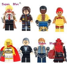 1PCS Classic Movie Figures Constantine Doctor Who She-Ra Princess HellBoy building blocks models bricks toys for children kits(China)