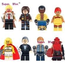 1PCS Classic Movie Figures Constantine Doctor Who She-Ra Princess HellBoy building blocks models bricks toys for children kits