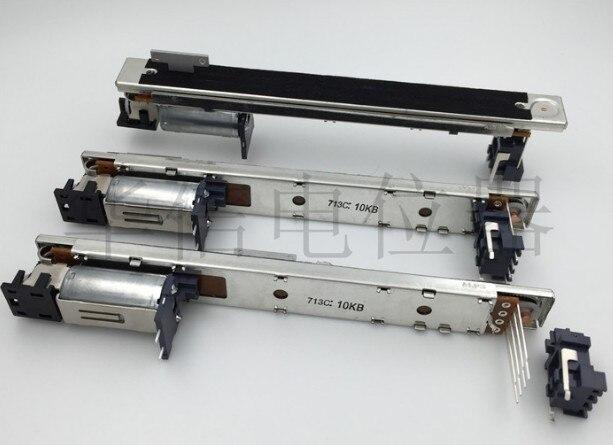 Japon alpes YAMAHA potentiomètre mélangeur numérique B10k 10KB T poignée pour 01V96 LS9 M7CL DM1000 DM200 LS9 M7CL course 100mm commutateur