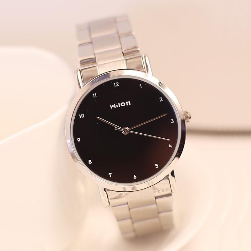 Genuine Veyron Wilon Fashion Lovers Watch Strip Steel Table Couples Shipping Student Table Table For Men And Women