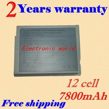 JIGU 6600MAH 12 CELL Laptop Battery FOR Dell  J2328 for  Inspiron 1100 Series 1150  5100 Series 5150   5160 Latitude 100L