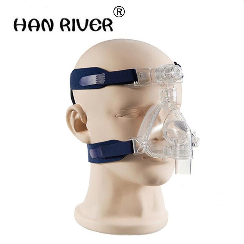 2018 masque de nez de ventilateur de haute qualité pour l'apnée du sommeil tout usage avec tête et accessoires de machine respiratoire à la maison offres spéciales