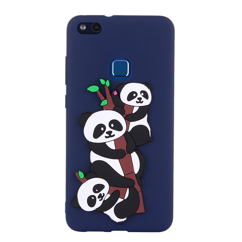 Panda Case for Huawei P10 Lite WAS-LX1 P10Lite TPU Soft Silicone protective phone Cover for Huawei P 10 Lite WAS LX1 Fitted Case