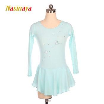 Nasinaya Figure Skating Dress Customized Competition Ice Skating Skirt for Girl Women Kids Patinaje Gymnastics Performance 252