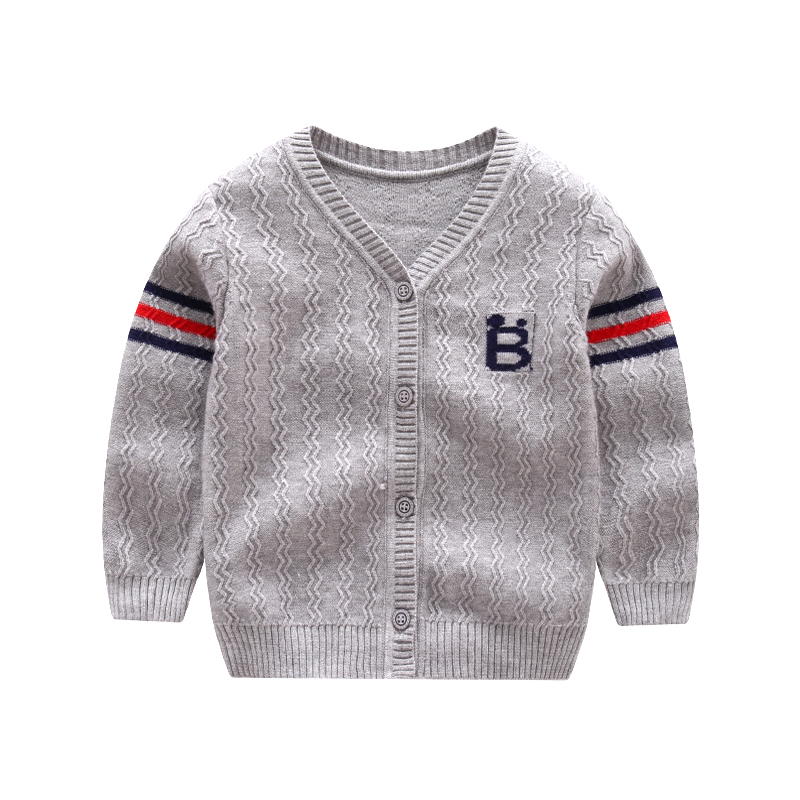 e2b18384650d Товар New Cotton Baby Sweater Cartoon Long Sleeve Button Sweaters ...