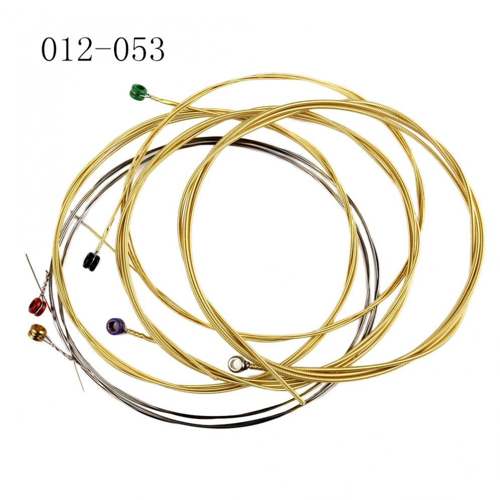 6pcs set super antioxidant acoustic guitar string 012 053 phosphor bronze strings nickel full. Black Bedroom Furniture Sets. Home Design Ideas