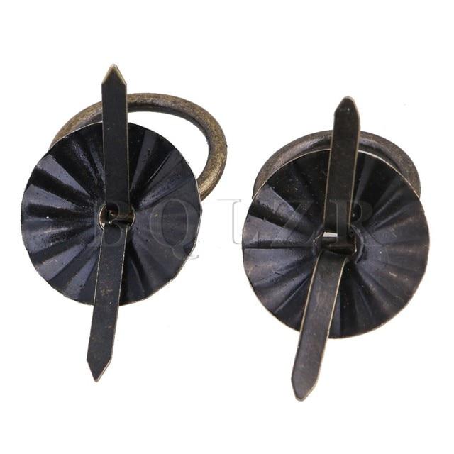 Vintage Dekorative Runde Eisen Drop Griff Küche Schublade Bronze ...