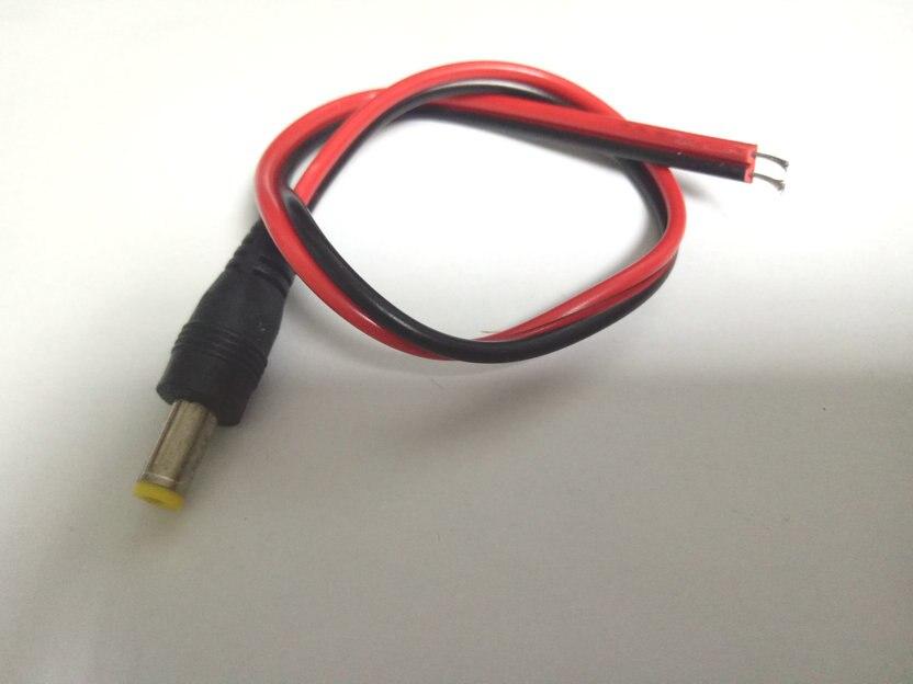 2000 sztuk 5.5mm x 2.1mm męski CCTV LED DC Power Plug adapter gniazda jack w Złącza od Lampy i oświetlenie na AliExpress - 11.11_Double 11Singles' Day 1