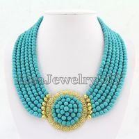 Fashion African Necklace Bridal Party Necklace Bridesmaid Gift HD5144