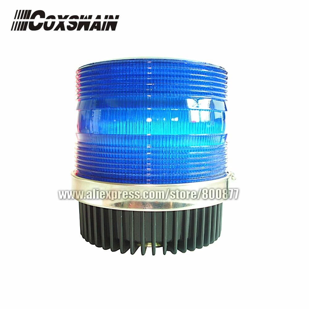 LED Strobe Beacon, Car External Warning Lights, DC12V, 20W, Magnetic Install, PC Lens, Waterproof (TBD-GA-C933)