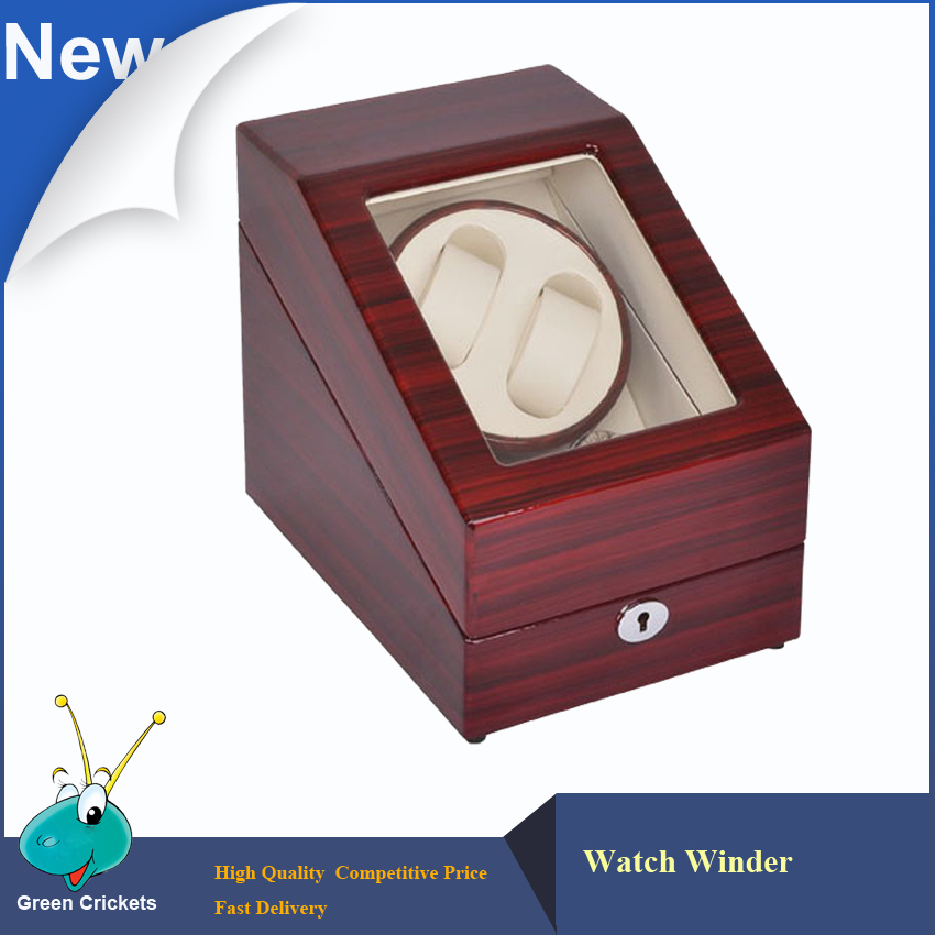 High Glossy Luxury Automatic Watch Winder ,German Super Slient Motor Watch Winder ,WATCH DISPLAY BOX watch winder lt wooden automatic rotation 2 0 watch winder storage case display box white