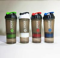 3 In 1 Whey Protein Sports Nutrition Water Bottle 4 Colors BPA FREE Shaker For Protein