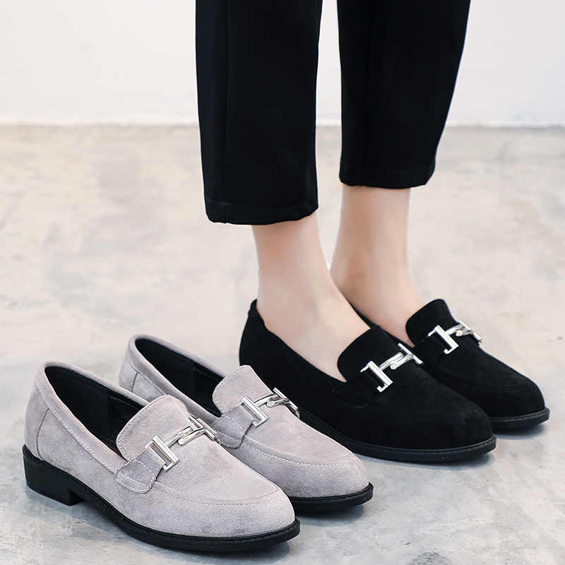 6d320af287 Detail Feedback Questions about 2019 spring new fashion simple solid color  casual shoes trend comfortable wild women's shoes. on Aliexpress.com |  alibaba ...
