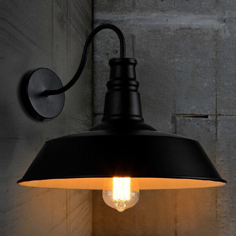 American Vintage Wall Lamp Indoor Lighting Bedside Lamp Industrial Style Iron Retro Wall Lights Reeding Room Bedroom Home Decor american vintage wall lamp for indoor outdoor lighting retro industry wall lights with edison bulb for bedroom black 220v e27