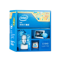 Intel G1840 dual core CPU LGA1150 compatibility H81 B85 motherboard uality assurance for a year Free shipping